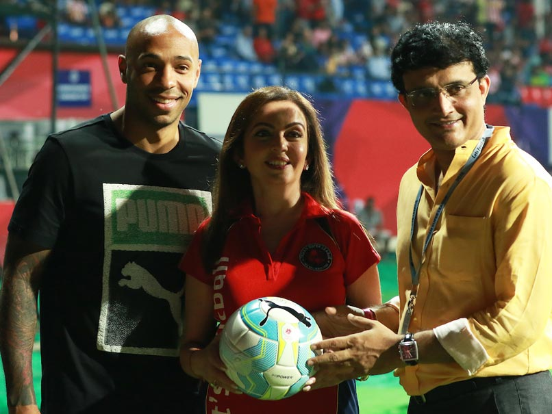 Big Names in ISL Can Help Indian Football Massively: Thierry Henry