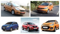 Best 5 Cars In India Below Rs. 5 Lakh
