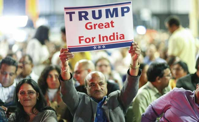 Image result for trump and india