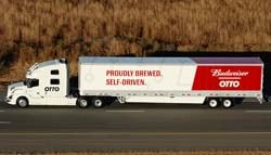 Uber's Self-Driving Truck Delivers Its First Shipment - Nearly 45,000 Cans Of Beer