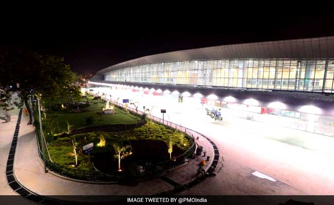 PM inaugurates country's second green airport in Vadodara