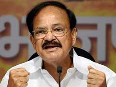 BJP Has No Interests In Tamil Nadu, Says Union Minister Venkaiah Naidu