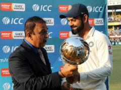 Virat Kohli Presented With ICC Test Championship Mace After Indore Test Triumph