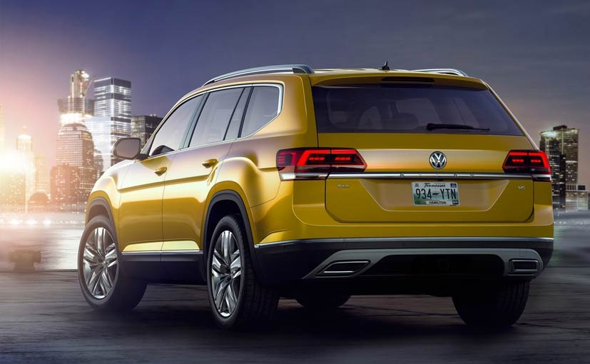 Volkswagen Reveals 7 Seater SUV Atlas - NDTV CarAndBike