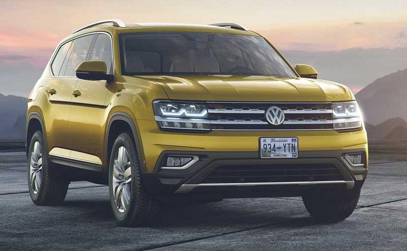 Volkswagen Reveals 7 Seater Suv Atlas Ndtv Carandbike