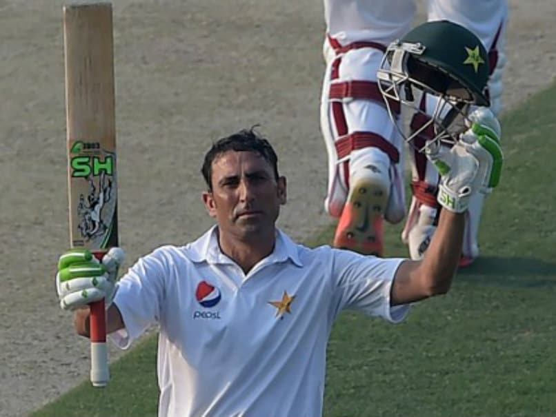2nd Test: Younis Khan Leads Pakistan Charge On Day 1 vs West Indies