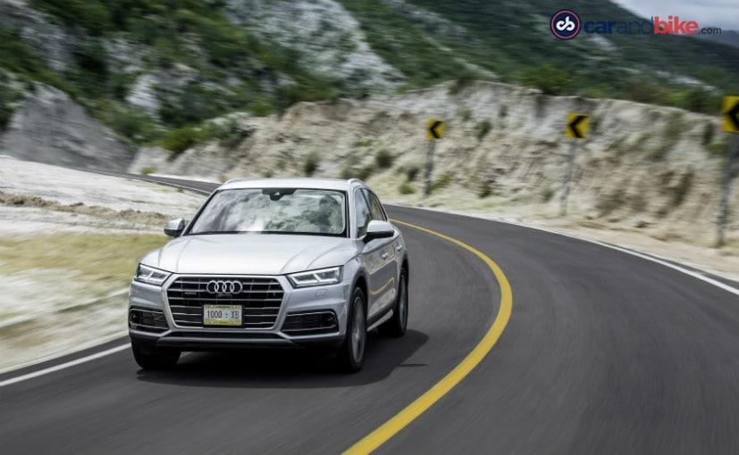 2017 Audi Q5- In action