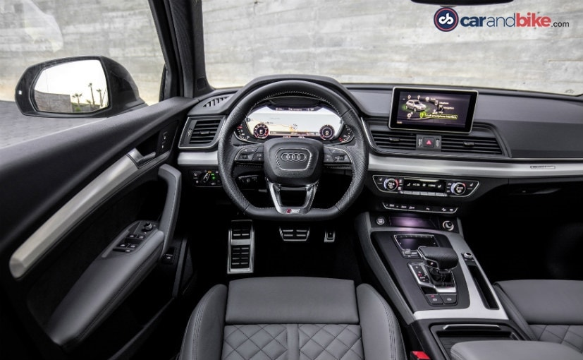 2017 Audi Q5-Dashboard