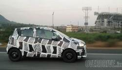 2017 Chevrolet Beat Hatchback Caught Testing In India