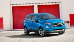 2017 Ford EcoSport Facelift Unveiled At LA Auto Show; India Launch Next Year