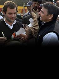 Akhilesh Yadav Wins Cycle. Coming Soon, Grand Alliance With Congress