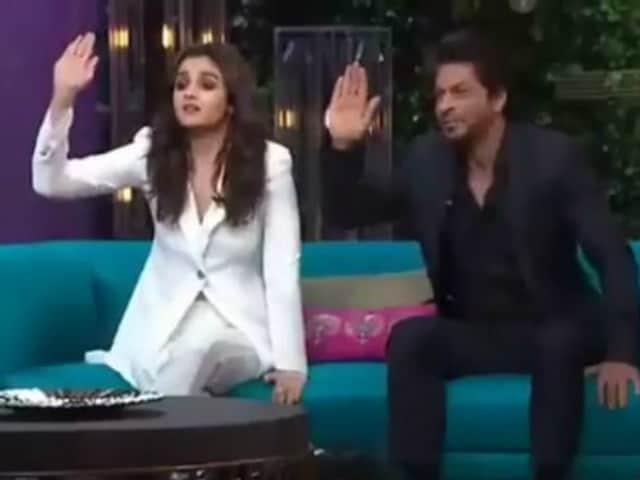 Shah Rukh Khan, Alia Bhatt Love Koffee But First, A Pic Please