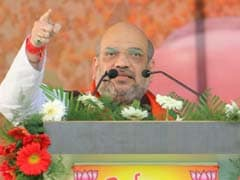 Amit Shah Flags-Off Parivartan Yatra In Uttarakhand, Targets State Government