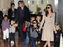 Angelina Jolie Calls a Truce with Brad Pitt for Kids This Thanksgiving