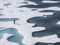 Polar Sea Ice Extent Hit Record Low For November