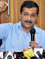 Arvind Kejriwal Censured By Election Commission For Bribe Remarks At Goa Rally