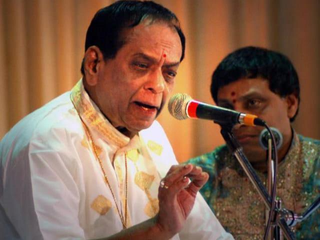 Veteran Carnatic musician Balamuralikrishna passes away