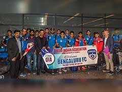 Bengaluru FC Get Warm Welcome Ahead of AFC Cup Final in Doha