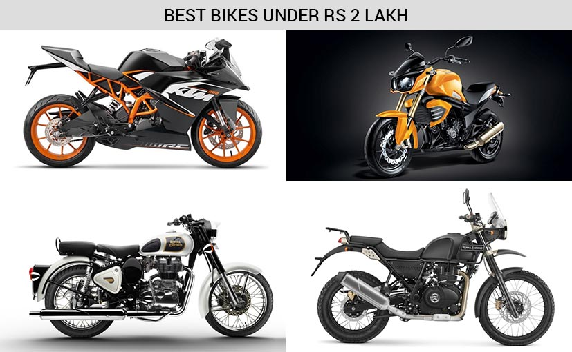 Best 7 Bikes In India Under Rs 2 Lakh Ndtv Carandbike