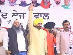 AAP's Bhagwant Mann To Contest Punjab Elections Against Sukhbir Badal