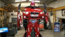Turkish Company Builds A Real Transformer Out Of The BMW 3 Series