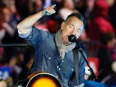 Bruce Springsteen Urges 'Right Side Of History' In Hillary Clinton Rally