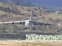 Amid Stand-off With China, IAF's C-17 Globemaster Lands 30 km From Border