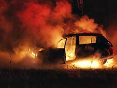 SUV Catches Fire On Gurugram Expressway, Disrupts Traffic