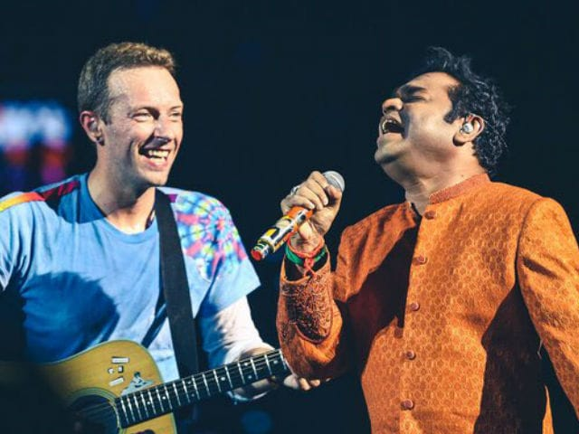 Thanks Chris Martin, Says A R Rahman After They Sang Maa Tujhe Salaam