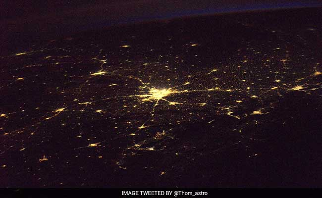 ... Posts Stunning Photo Of City From Space. New Delhi, Twitter Tells Him