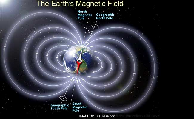 Indian Scientists Detect Crack In Earth's Magnetic Shield