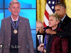 Ellen DeGeneres Shares Wonderful Story Of Her Day At The White House