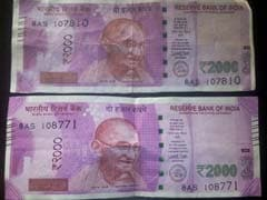Fake Note-Printing Machine Seized In Ahmedabad