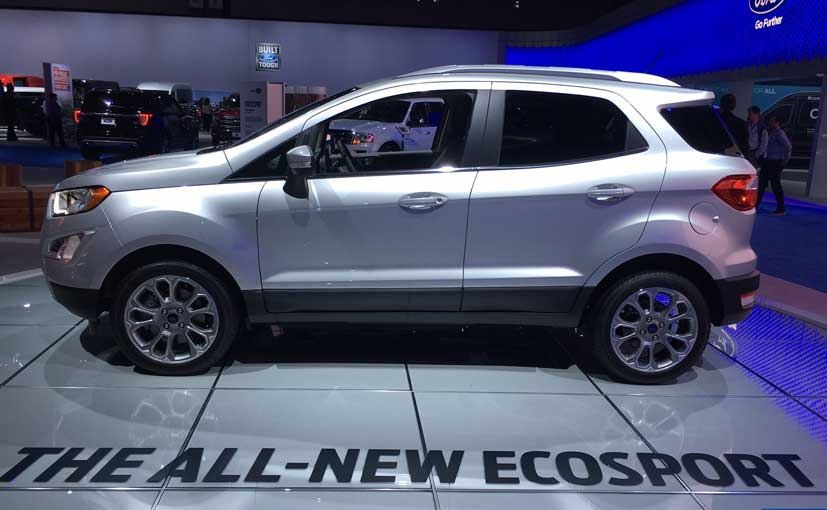 new ford ecosport awd to be manufactured in india will be exported to the us ndtv carandbike. Black Bedroom Furniture Sets. Home Design Ideas