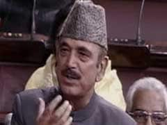 You Should Apologise, Not Me, Ghulam Nabi Azad Tells Government
