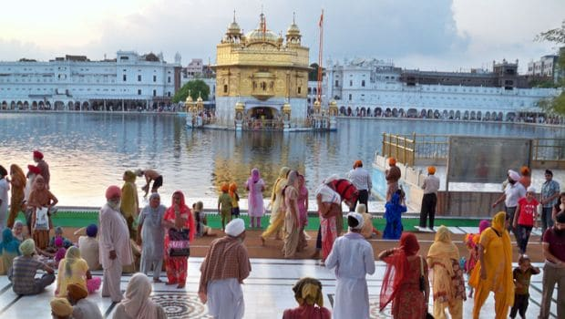 Golden Temple and Prasad, Amritsar