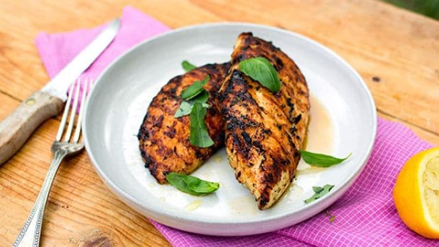 grilled chicken 620