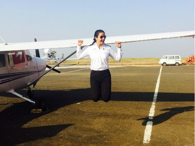 Gul Panag is Now a Pilot. See Pics From Her Cross-Country Flight