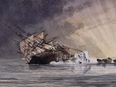 Thawing Arctic Ice Reveals New Clues To Mystery Of The Lost Ships Terror And Erebus