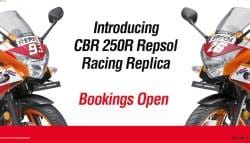 Honda CBR250R Repsol Racing Replica Limited Edition Launched In India
