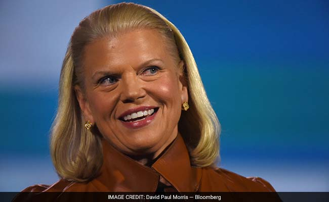 IBM awarded Ginni Rometty 1.5 million stock options on a one-time basis in January 2016.