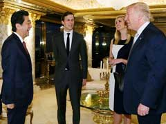 Trump's Daughter Ivanka Sits In On Japan PM Talks, His First With Foreign Leader