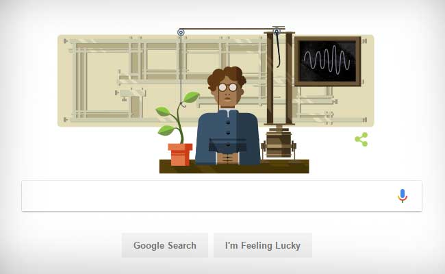 Google doodles scientist Jagdish Chandra Bose on 158th birthday