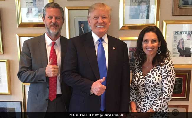 news trump jerry falwell education department secretary