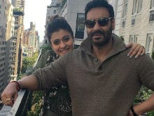 Kajol's Film With Anand Gandhi is Produced by Ajay Devgn