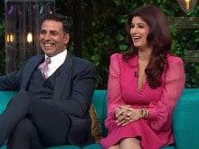 <I>Koffee With Karan</i>: Twinkle Khanna, Akshay Kumar's Episode is a Laugh Riot