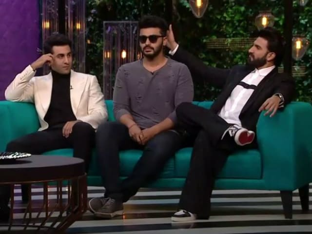 Koffee With Karan 5: Ranveer Singh, Ranbir Kapoor and Arjun, a Bromance in 6 GIFs