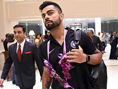 Indian Cricket Team Arrives in Rajkot For First Test vs England