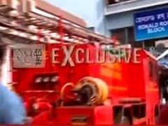 Fire Breaks Out In Kolkata's SSKM Hospital
