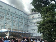 Fire At Kolkata's SSKM hospital, No Casualties Reported